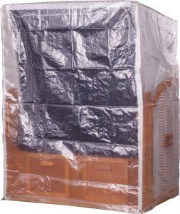 PVC-Zweisitzer-Strandkorbhuelle-Transparent-2